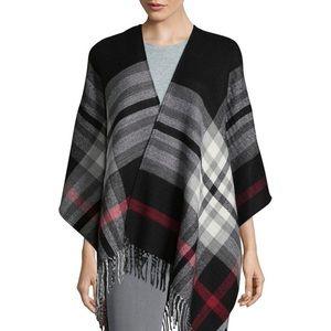 Plaid Blanket Wrap/scarf
